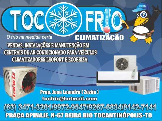 Toc FrIO Climatização