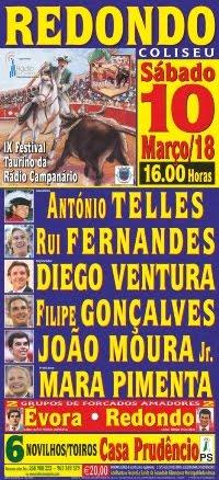 Redondo- IX Festival Taurino da Rádio Campanário