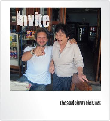 Invite The Social Traveler into your world