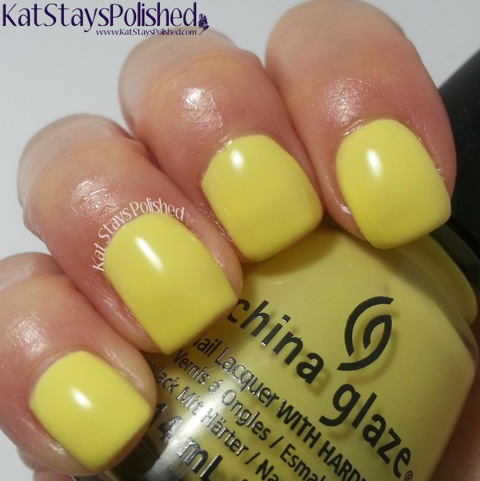 China Glaze Off Shore - Sun Upon My Skin | Kat Stays Polished
