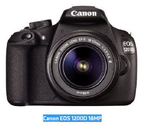 Harga dan Spesifikasi DSLR Canon EOS 1200D 18MP