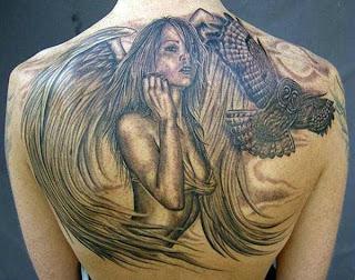 beautiful ass with tatoo