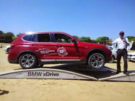 BMW Experience Tour 2015 X5