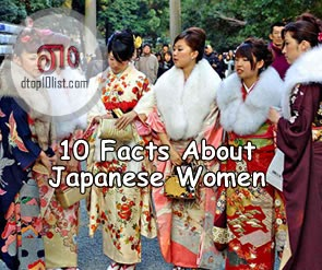 Top 10 Facts About Japanese Women