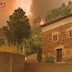Fogo na Pampilhosa da Serra Ameaçou Aldeia da Foz do Ribeiro