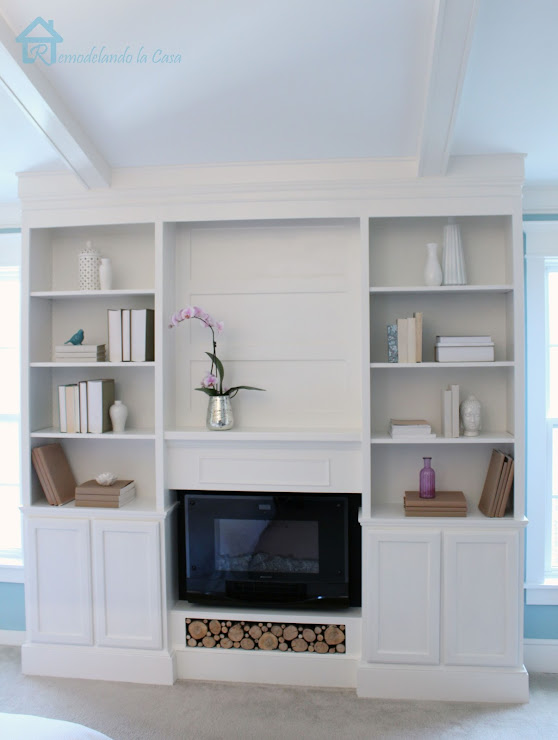 remodelando la casa diy bookcases for bedroom final reveal