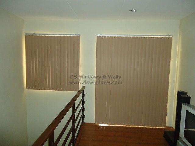 PVC Vertical Blinds for One Bedroom Loft Apartment - Calamba Laguna, Philippines