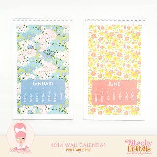 http://kitschydigitals.com/2014-wall-calendar.html