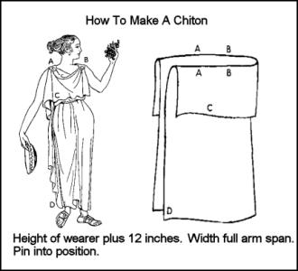 how to make a toga dress out of a sheet