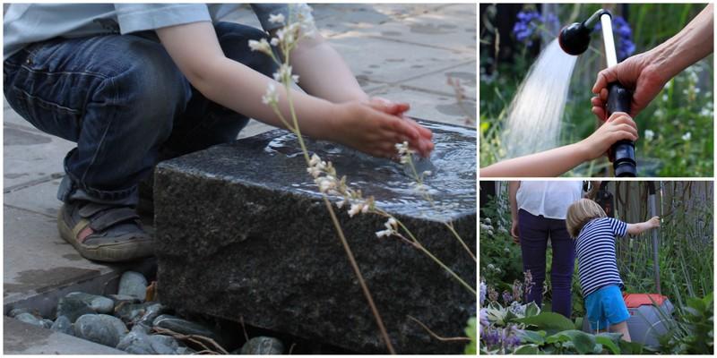 Barneleg i haven