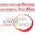 Día Europeo por un Domingo Libre de Trabajo sería el 3 de Marzo 2015