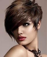 Bold, short haircut