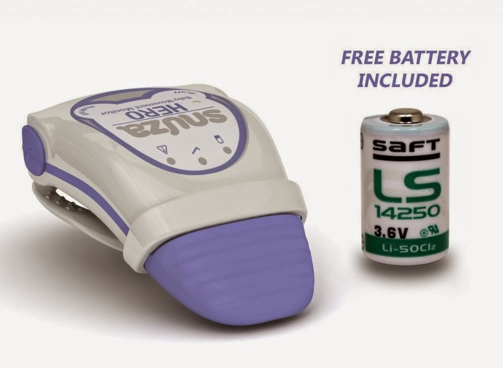 Snuza Hero Mobile Baby Movement Monitor Extra Replacement Battery