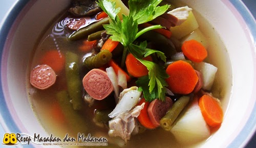 Sup Ayam Sosis