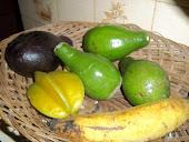 Avocados, Plantain & Starfruit