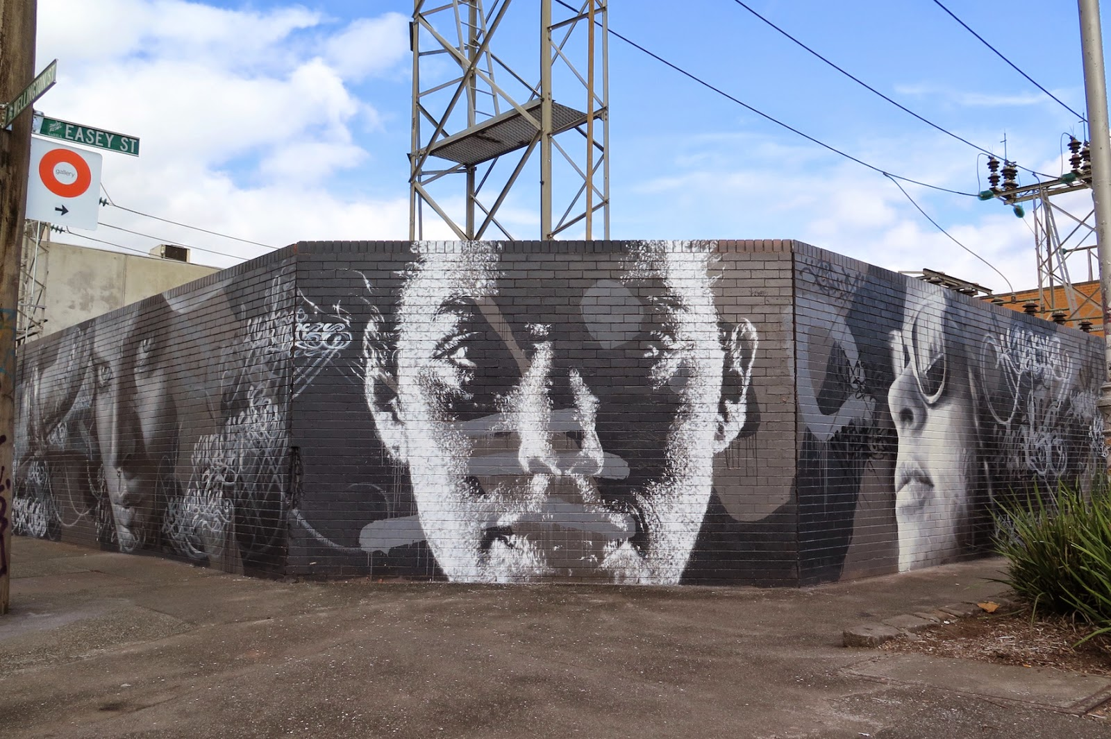Rone, Adnate, Askew One, Guido Van Helten And Mayonaize came together recently to collaborate on a new project in Melbourne's inner suburb of Collingwood.