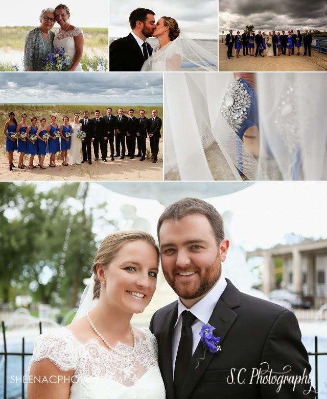 Saint Joseph wedding, blue wedding shoe rhinestones