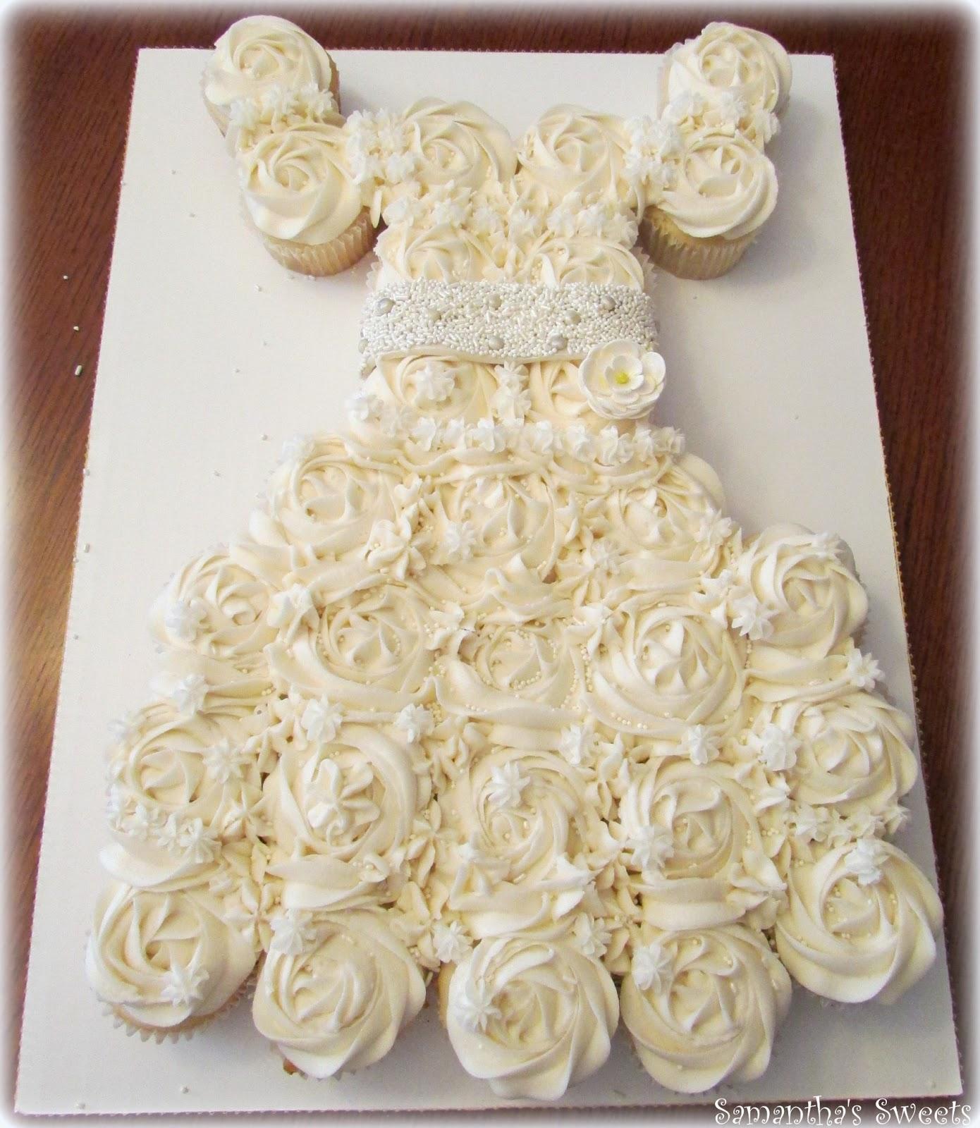 Wedding Dress Cupcake Viewing Gallery