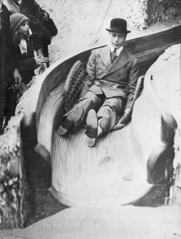 Divertidas fotografías de grandes personalidades Rey Jorge VI