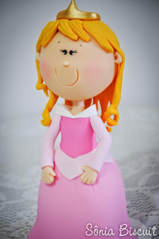 Princesas Biscuit Bela Adormecida Aurora