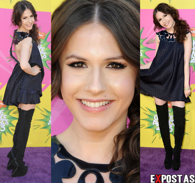 Erin Sanders: Nickelodeon's 26th Annual Kids' Choice Awards - USC Galen Center em Los Angeles - 23 de Março de 2013