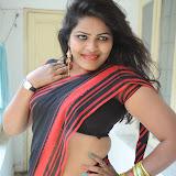Sitara Hot Photos in Saree at Gundello Guchi Guchi Champake Movie Press Meet 101