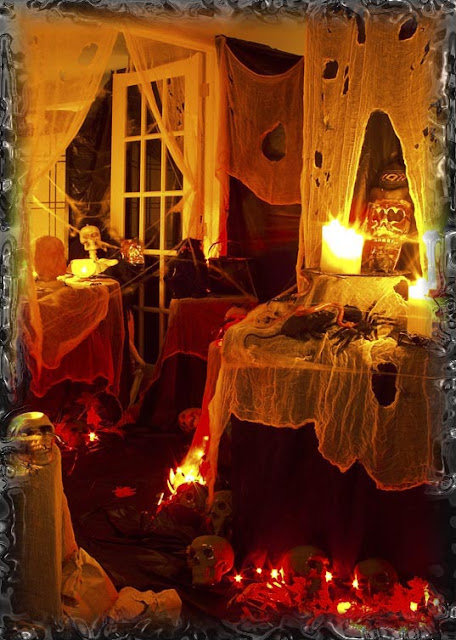 scary halloween party decoration ideas