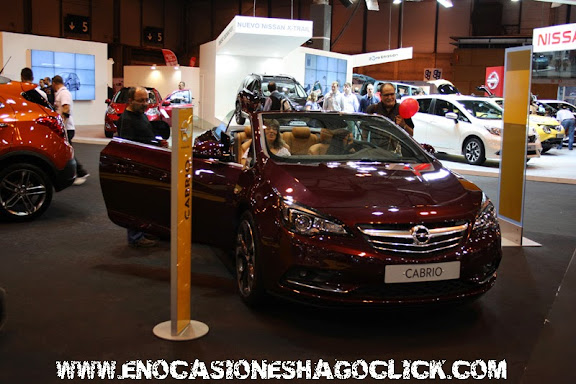 Opel Cabrio en salon del automovil de Madrid 2014