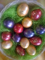 Osternest, Eierfarben