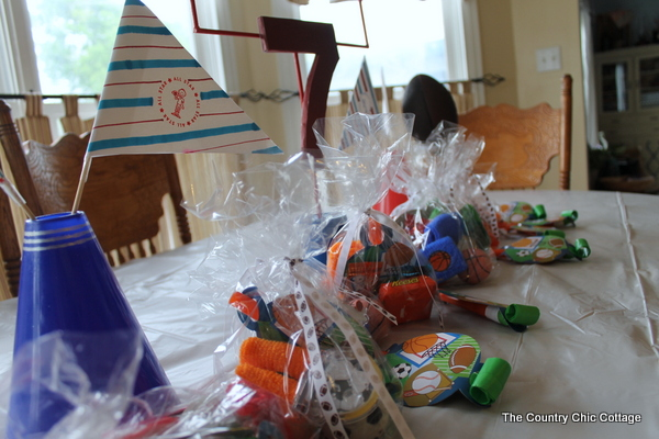 Sports-Themed Birthday Party