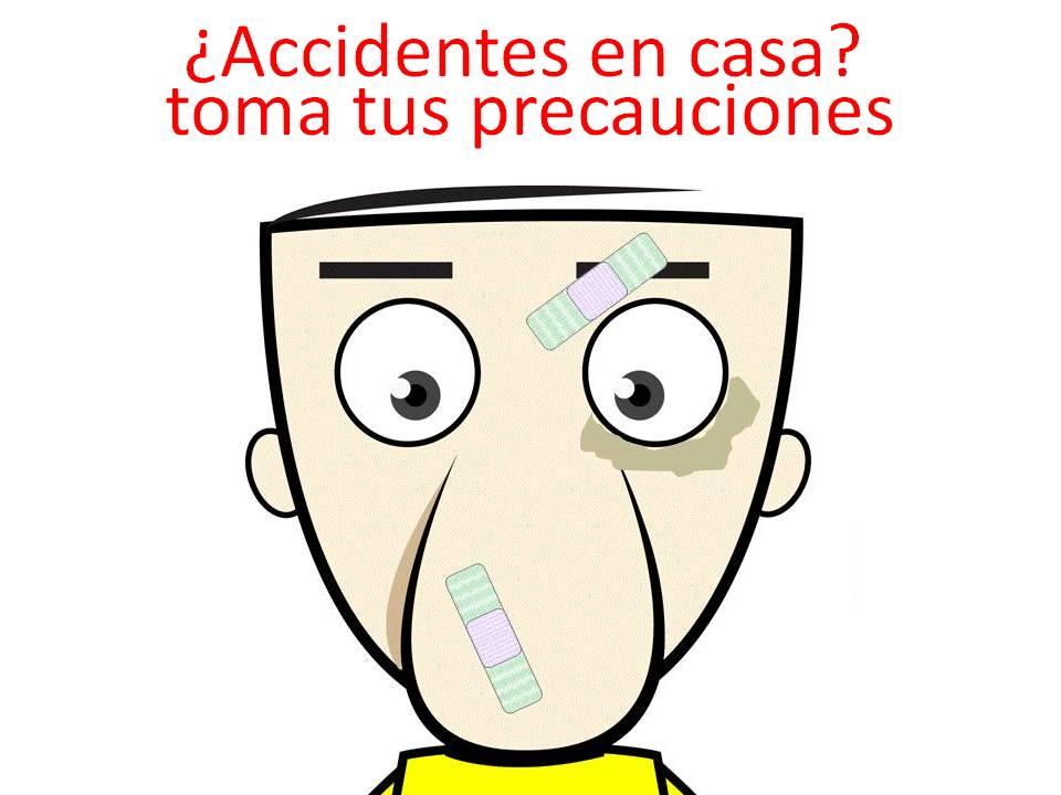 de los accidentes más frecuentes que se pueden producir en elhogar