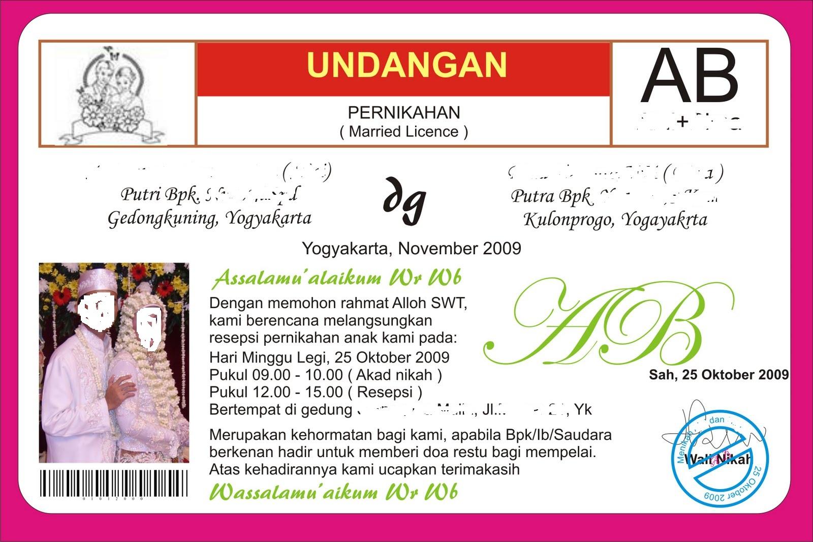 down load label undangan pernikahan