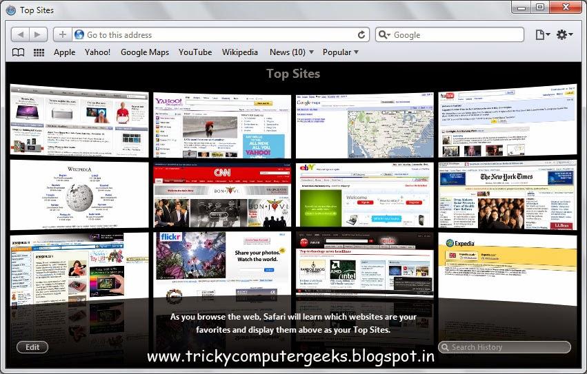 free download safari web browser