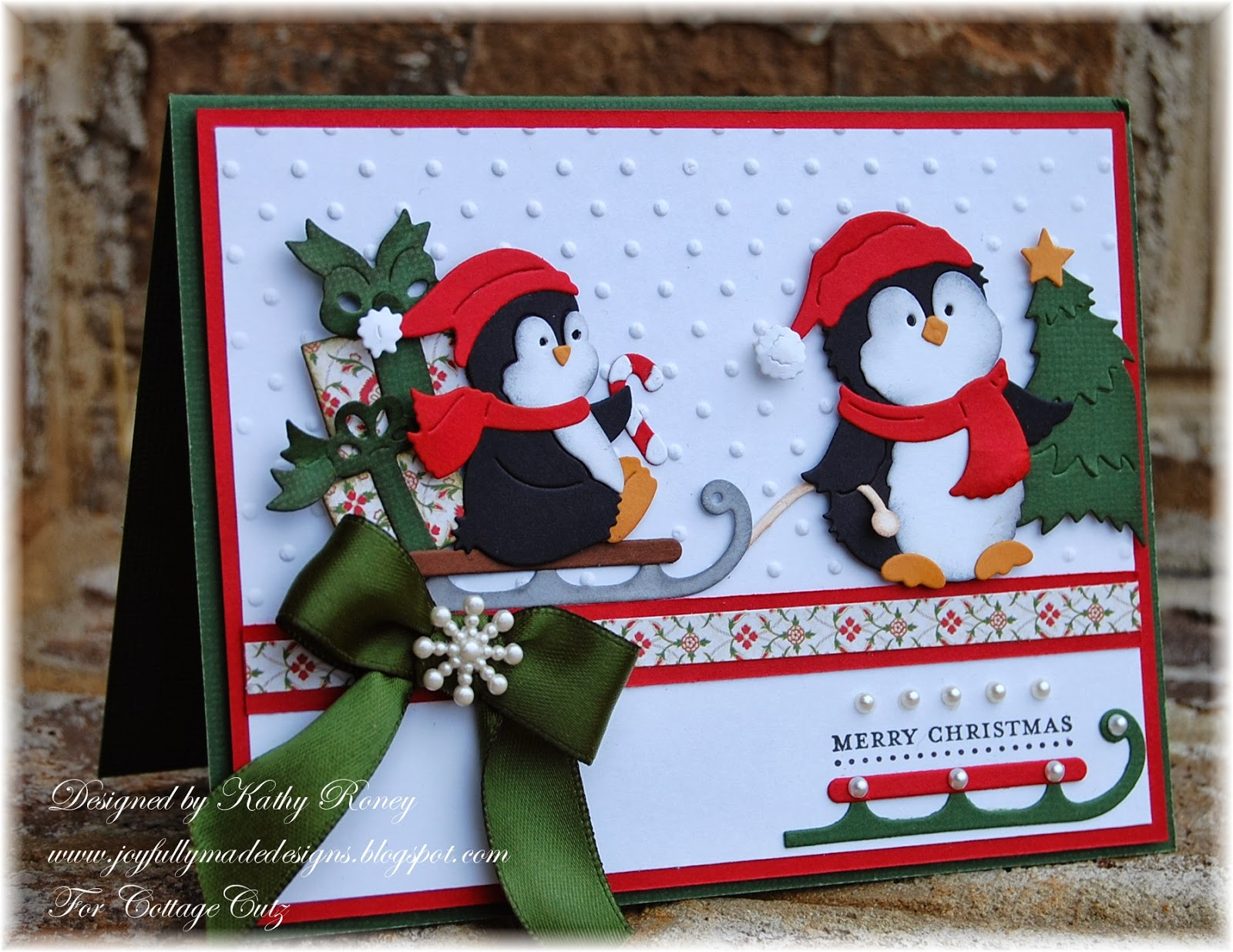 Joyfully Made Designs Jolly Penguin