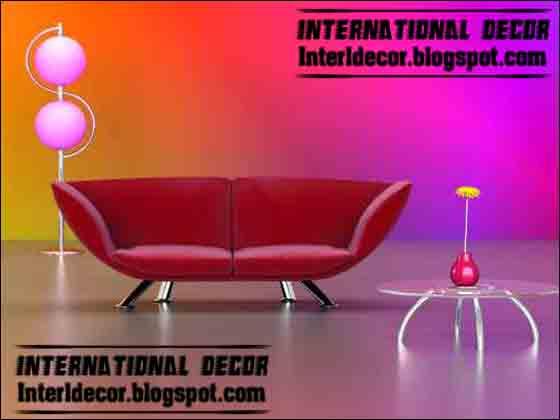 Italian Red Leather Sofa Photos
