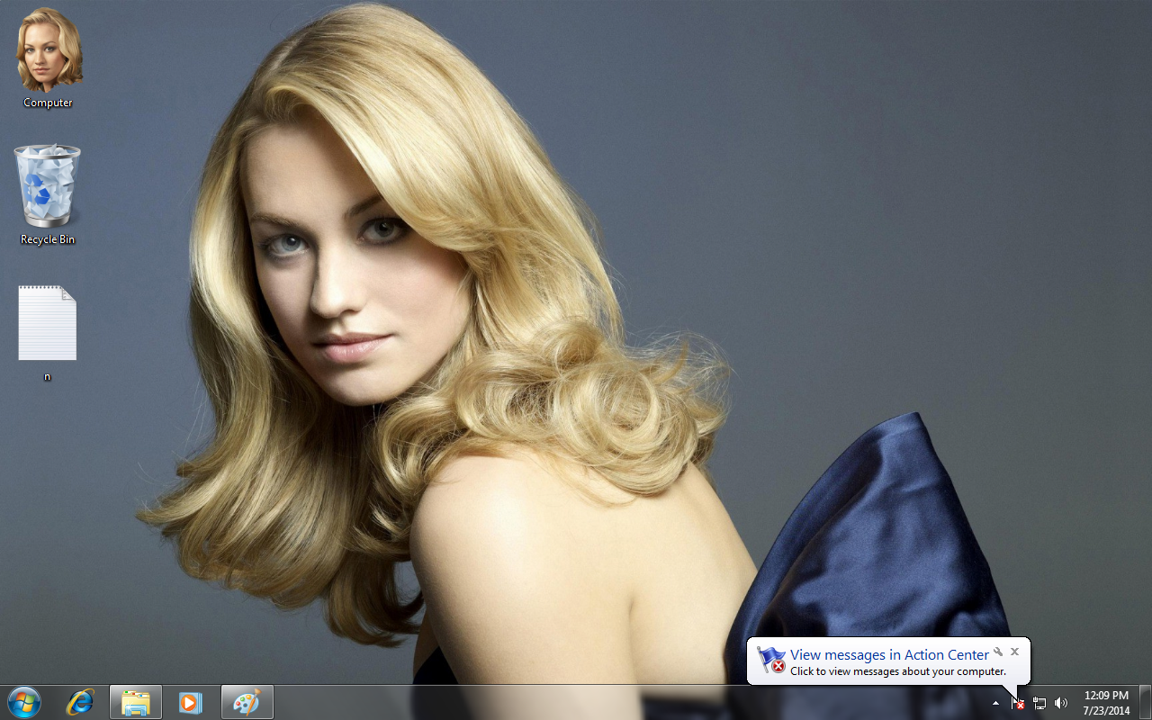 Yvonne Strahovski Chuck Dexter Theme for Windows
