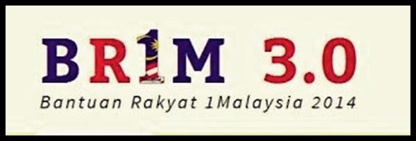 Borang Permohonan BR1M 3.0 |Bantuan Rakyat 1 Malaysia 2014 | BRIM 3. 0