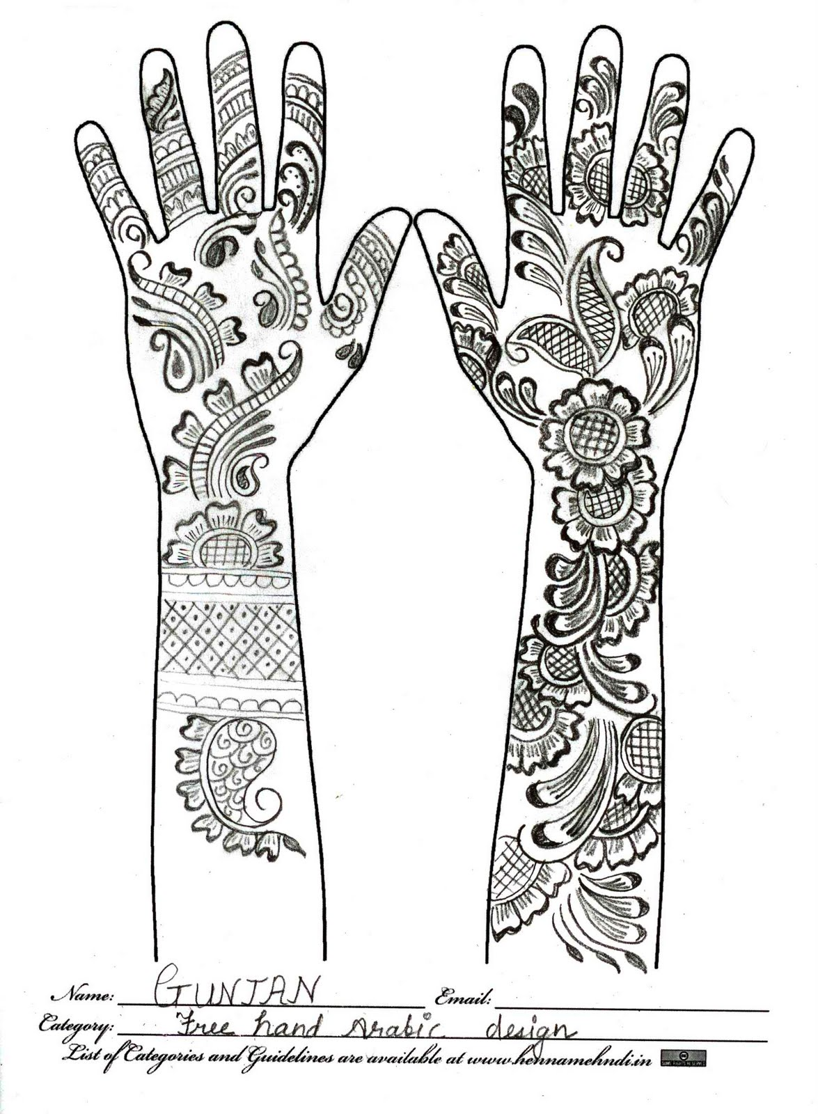 black and white mehndi designs mehndi designs