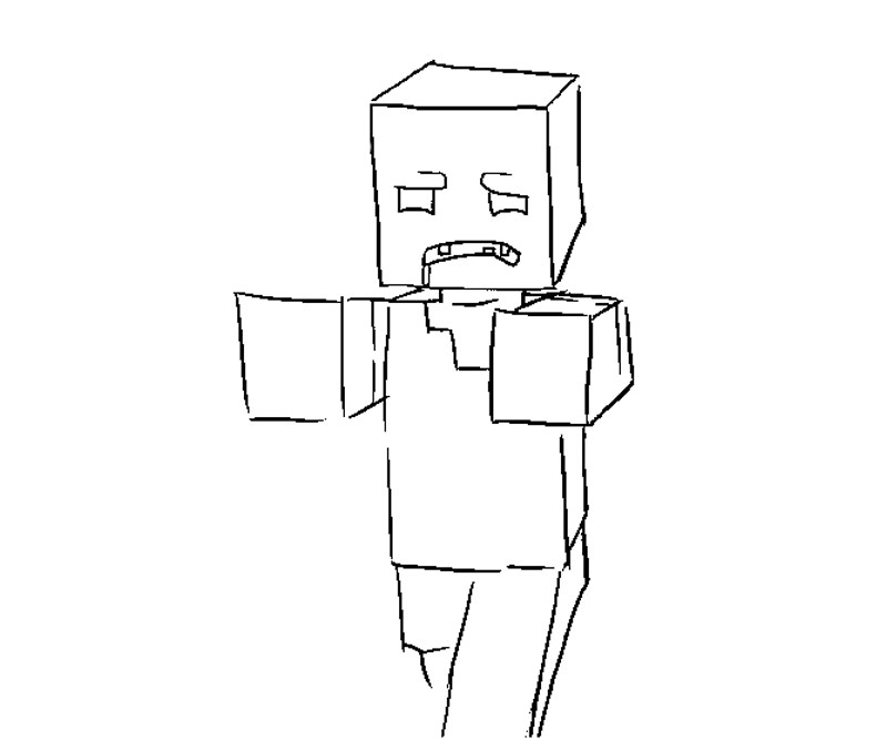 youtube minecraft coloring pages - photo#18