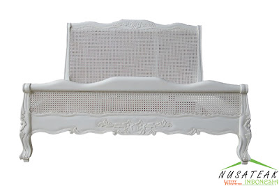 Jajar French Style Bed - Nusa Teak