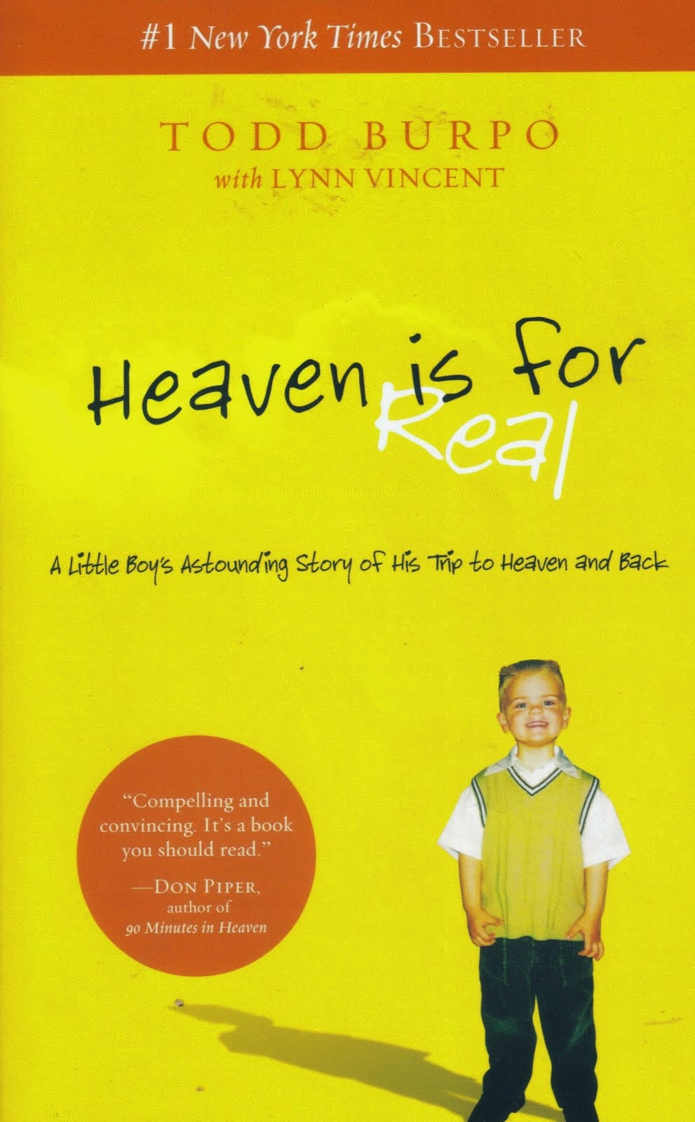 heaven is for real review Heaven is for real movie reviews & metacritic score: todd (greg kinnear) and sonja (kelly reilly) burpo's son, colton (connor corum), claims to have visited.