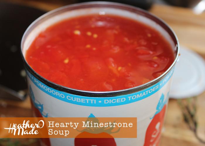 hearty minestrone recipe