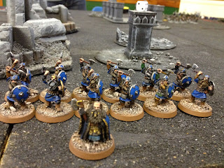 Hobbit SBG - Dwarf King and Shield Warriors