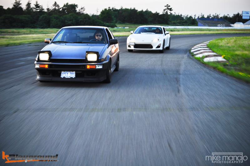 Toyota AE86 & Toyota 86