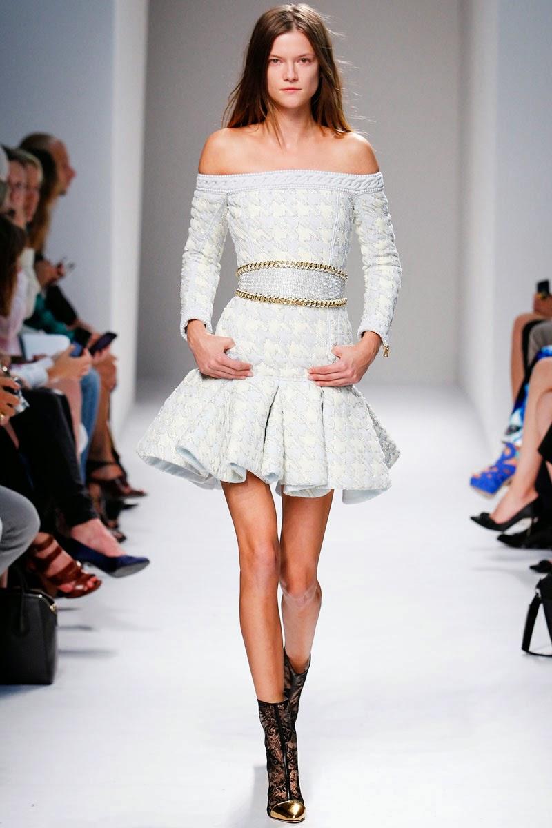 Balmain Ready to Wear Paris Fashion Week catwalk