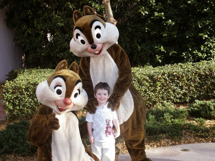 Florida, Disney, Chip and Dale