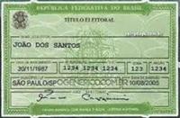 TITULO DE ELEITOR