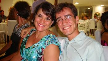 Luciene Bento e Guilherme Bento