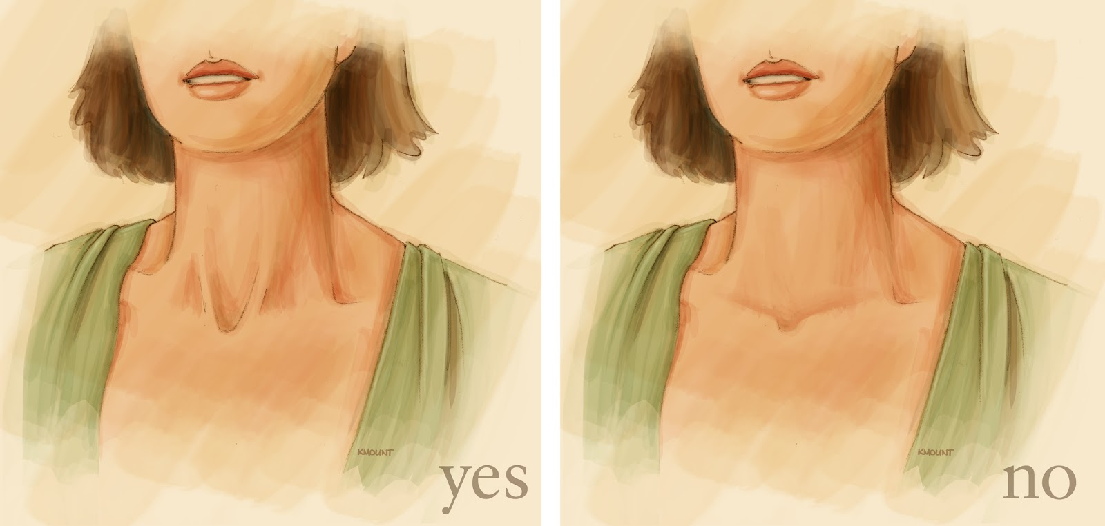 human anatomy for the artist: the anterior neck: theme and variations, Muscles