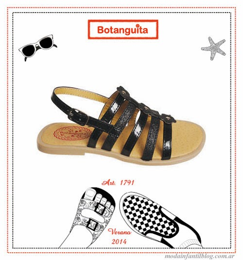 moda infantil 2014 sandalias para nenas